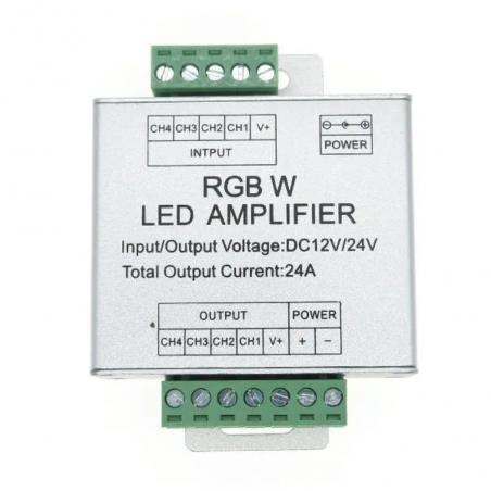 RGBW Amplifier DC 5-24 V 4CH x 4A