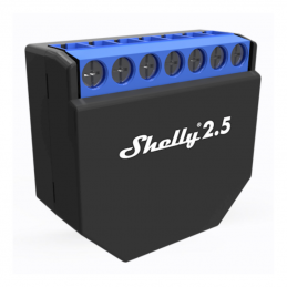 Shelly 2.5 for Apple HomeKit