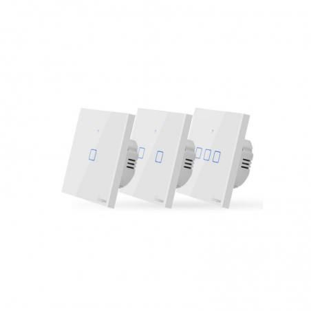 Sonoff T1 EU touch wall switch for Apple HomeKit