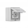 Sonoff S55 voděodolná WiFi zásuvka pro Apple HomeKit