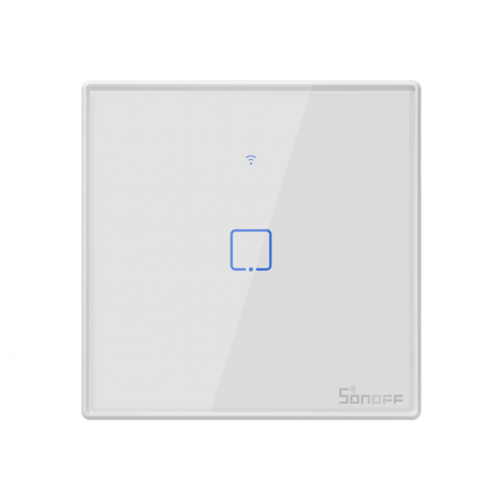 Sonoff T2 EU touch wall switch for Apple HomeKit