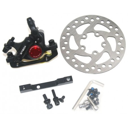 Hydraulic brake XTECH 120 mm - set for Xiaomi Scooter