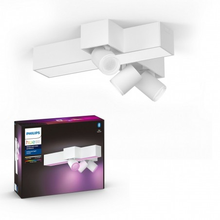 Philips Hue White and Color Ambiance Centris 3L Cross Ceiling Bílá