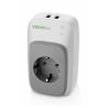 Vocolinc Smart adapter, 2x USB port + night light