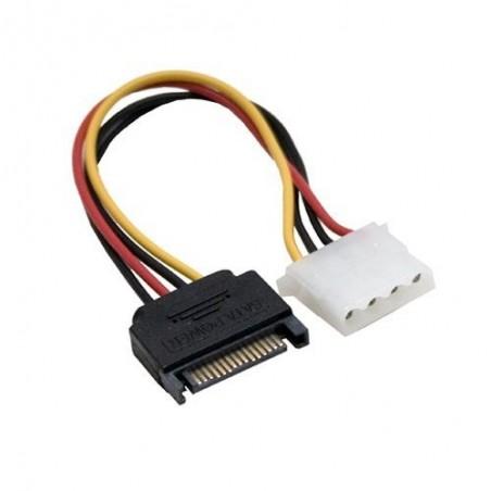 Redukce napájení SATA 15 pin na Molex 4 pin