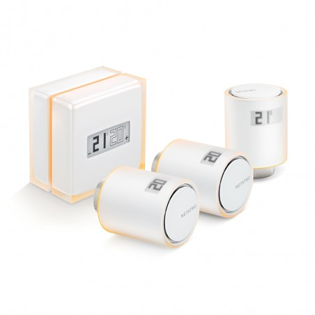 NETATMO Termostat + 3x Single Valves