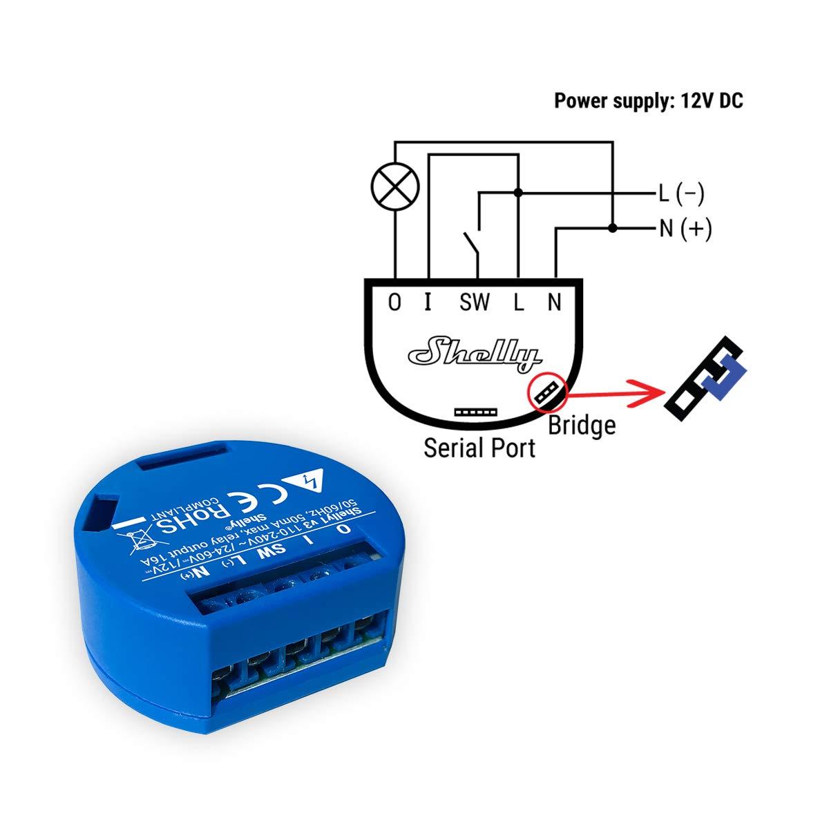 HomeKit Pulse compatible Shelly 1